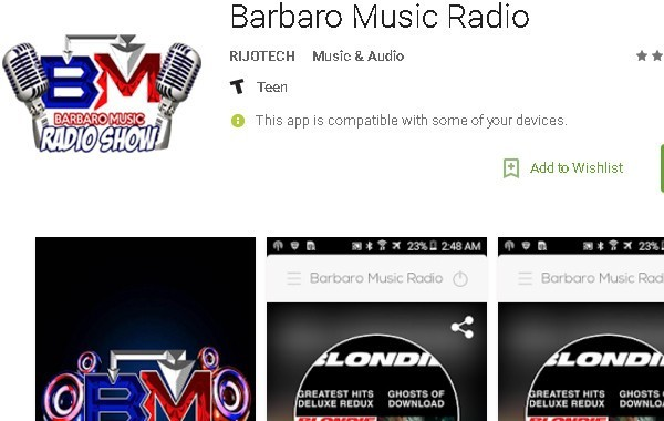 Barbaro Music Radio